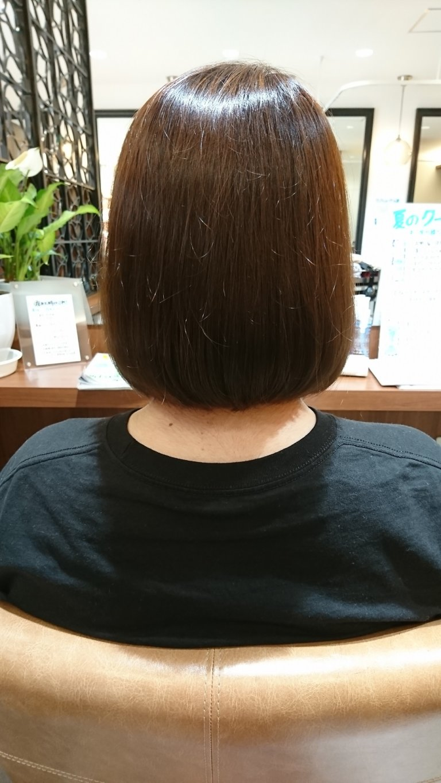 スタイルチェンジで髪質改善♪