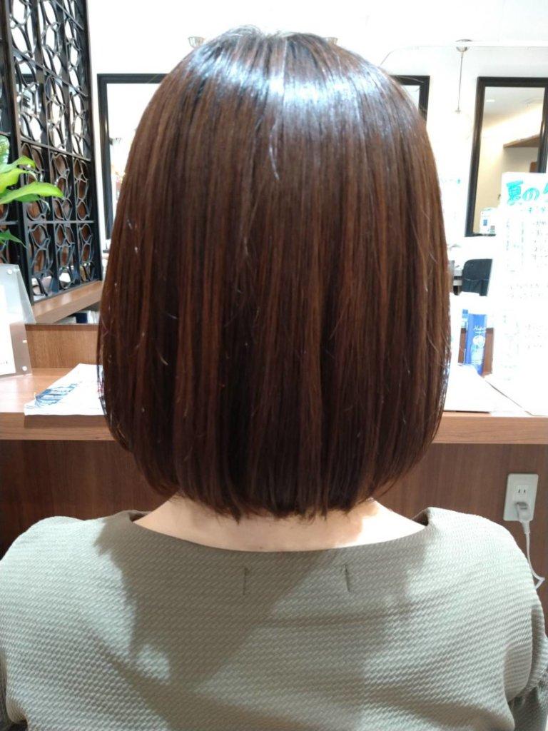 カラーしながら髪がキレイになる!?ブークル人気の良草カラー✨